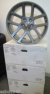 22 Dodge Ram 1500 Srt10 Style Set Of Four New Gunmetal Wheels Rims 2223