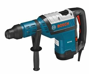 New Bosch Rh745 1 3 4 inch Sds max Rotary Hammer W hard Case And Manual