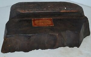 Vintage Antique Press Print Block Stamp Wood Wallpaper Fabric