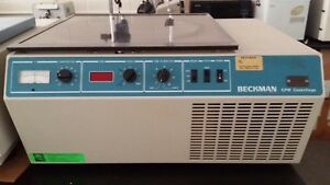 Beckman Gpr Refrigerated Bench Top Centrifuge With A Rotor And 4 Buckets