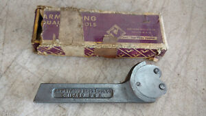 Vintage Armstrong Model 2040 Knurling Tool Holder Lathe Tool Ace