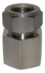 Swagelok 1 Tube Od X 1 Npt Female Pipe Straight Connector Ss 1610 7 16
