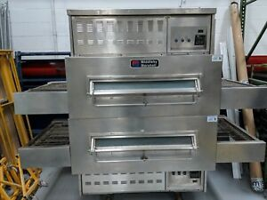 Middleby Marshall 350c 360 Double Stack Pizza Conveyor Ovens Natural Gas