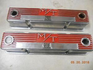 Mickeythompson M t Valve Covers Cast Aluminum Small Block Chevy