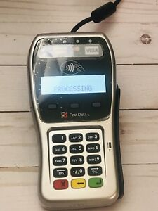 first Data Fd 35 Pin Pad Credit Card Chip Reader