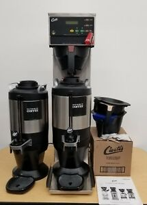 Curtis Cbhs Commercial Coffee Tea Maker Bundle 2 Dispensers Filters And More