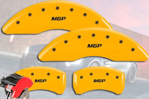 2016 Mercedes Benz Gle450 Amg 4matic Front Rear Yellow Mgp Brake Caliper Cover