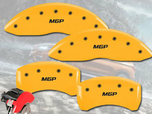 2009 2012 Mercedes Benz Cl550 Front Rear Yellow Mgp Brake Disc Caliper Covers