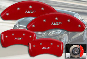 2001 2005 Mercedes Benz C320 Front Rear Red mgp Brake Disc Caliper Covers