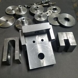 Milling Fixture Accessories Grinding Fixture Block Hubs Spacers Angle Plate