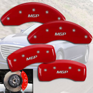 2013 2015 Veloster Turbo Front Rear Red mgp Brake Disc Caliper Covers 4pc