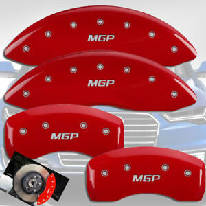 2015 2018 Audi Q3 Front Rear Red Engraved Mgp Brake Disc Caliper Covers 4pc