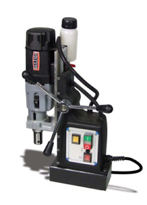 Baileigh Md 6000 Magnetic Drill 110v 3 Cutter Depth 2 3 8 Maximum Annular