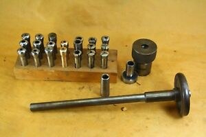 South Bend Lathe Collet Draw Bar And Collets