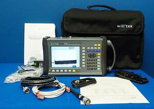 Aeroflex Willtek Hsa 9102b 9102 4 Ghz Mobile Handheld Spectrum Analyzer