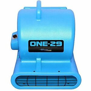 Bluedri One 29 Air Mover Blower Floor Drying Fan Carpet Dryer blue