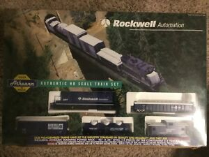 1997 Athearn Rockwell Automation Authentic Ho Scale Train Set Still Sealed