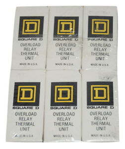 Square D A 59 Overload Relay Thermal Unit Pack Of 6 Sealed