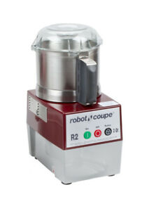 Robot Coupe R2 Ultra B 3 Quart Stainless Food Cutter Mixer 1hp