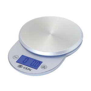 Cdn Sd1104 s 6 Stainless Steel Digital Proaccurate Scale