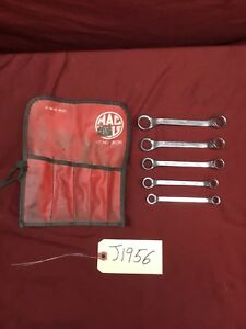Mac Tools 5 Piece Sae Double Box Ended Offset Wrench Set 12 Point Sb05k