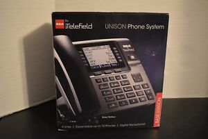 Rca Telefield 4 line Business Phone System Base Station Unison U1000 New