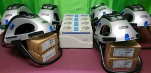 Stryker T5 Personal Protection System t4 Charger 6 Helmets Four New Batteries