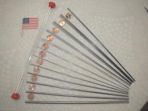 Drill Rod And Music Wire Small Sizes 27 Piece Assortment Tool Steel Spring