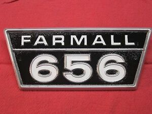 Original Ih Farmall 656 Tractor Ihc Side Panel Emblem 2753965r1