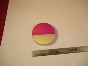 Optical Flat Dichroic Coating Mirror 2 Diameter 1 10 Wave Optics As Is