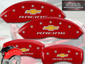 2010 2013 Chevy Impala Front Rear Red Mgp Brake Disc Caliper Covers racing