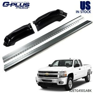 For 99 07 Chevy Silverado Sierra 4dr Extended Cab Rocker Panels