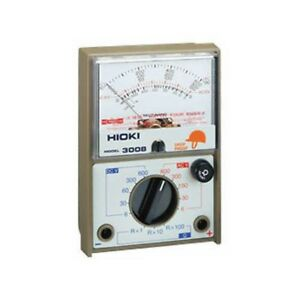 Hioki 3008 Analog Multi Meter 20kohm v Industrial Power Line Japan With Tracking