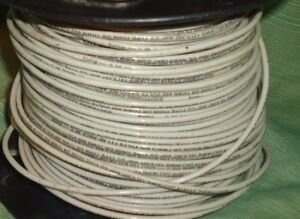 Southwire 23919 12 Solid Copper White 600 Volt T90 Nylon twn75 Insulated Wire