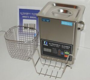 Dsa70se gl2 3l 3 17qt 270w Dual 20 40khz Digital Heated Ultrasonic Parts Cleaner