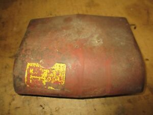 Ih Farmall 400 450 300 350 Dash Light Cover Panel Antique Tractor