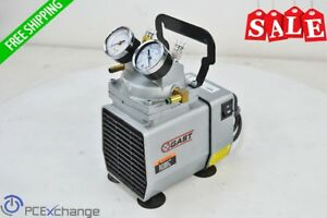 Gast Doa p704 aa Laboratory Industrial Vacuum Pump 1 8hp 0 25kw 25 5in hg