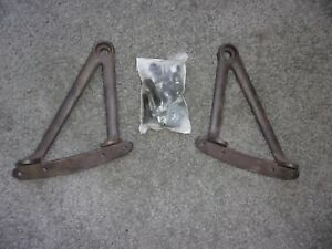 1928 31 Model A Ford Coupe Roadtser Cabriolet Rumbleseat Hinges With Bolts