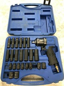 Cornwell Cattpb13 Cat2150 3 8 Impact Wrench With 26 Piece Socket Set Metric