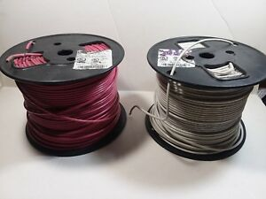 Wire 12 Thhn Thwn Mtw Stranded Copper Wire 2 Slightly Used 500 Spools 800