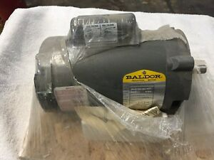 New Baldor Electric Motor 1 2hp 115 208 230v Rpm 3450 Single Phase 5 8 Shaft