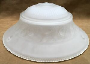 Vintage Ceiling Shade Globe Frosted 10 5 8 3 Hole