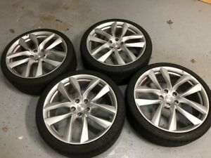Tesla 21 Arachnid Wheels And Tires Set Of 4