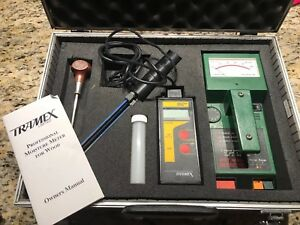 Tramex Professional Moisture Meter And Wall Moisture Scanner Tramex