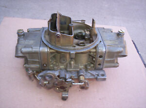 Holley Carburetor 4778 3 Double Pumper 700 Cfm Carburetor