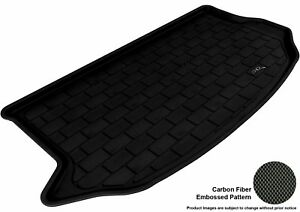 For 2010 2013 Kia Soul Kagu Carbon Pattern Black Custom Fit Cargo Area Liner