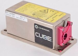 Coherent Cube 640 40c 640nm 40mw Continuous Wave Diode Laser 1069417 ah As is