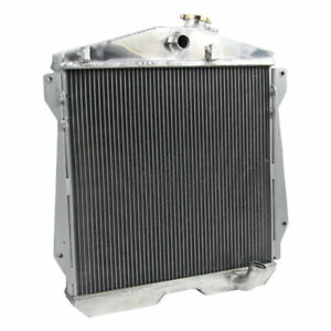 Asi 4 Row Aluminum Radiator For 1943 1948 1947 1946 Chevy Dj Dr Bl Cars 3 5 3 8l