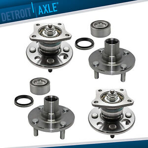 For 1993 2000 2001 2002 Prizm Corolla Front Rear Wheel Hub Bearings Non Abs
