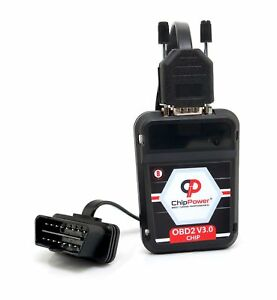 Us Obd2 Power Box For Vw Touareg I 6 0 W12 450hp Chip Tuning Performance Ver 3